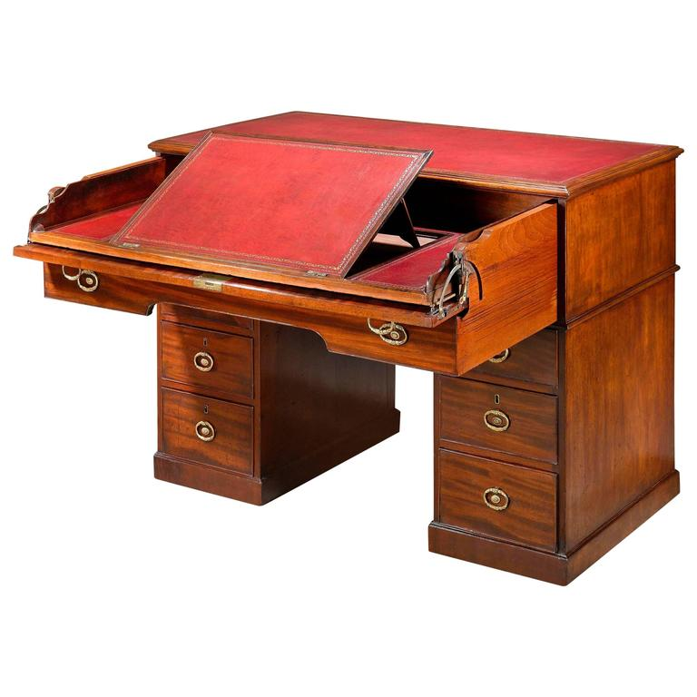 18th Century Architect's Desk by Gillows of Lancaster