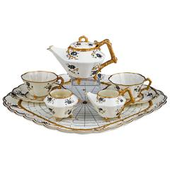 Belleek Thorn Tea Set
