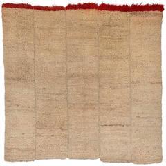 Vintage Tibetan Wool Nomadic Sleeping Blanket/Rug, circa 1950-1960