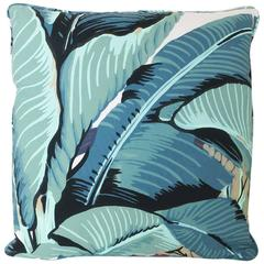 Beverly Hills Hotel  Martinique Banana Leaf Throw Pillow