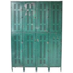 1930s American School Metal Lockers