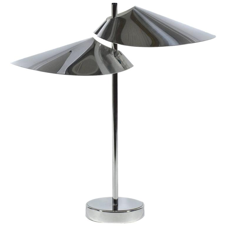 Curtis Jere Chrome Table Lamp 1