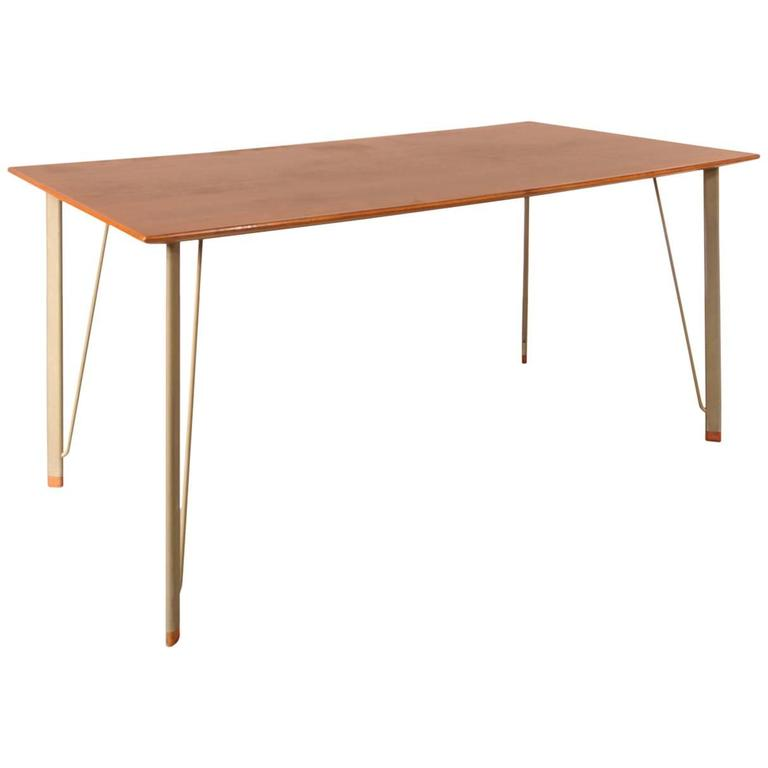 Dining Table by Arne Jacobsen for Fritz Hansen, Denmark, circa 1955