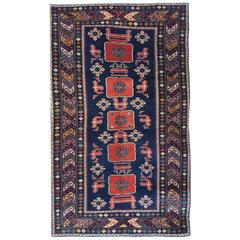Antique Caucasian Azeri Rug
