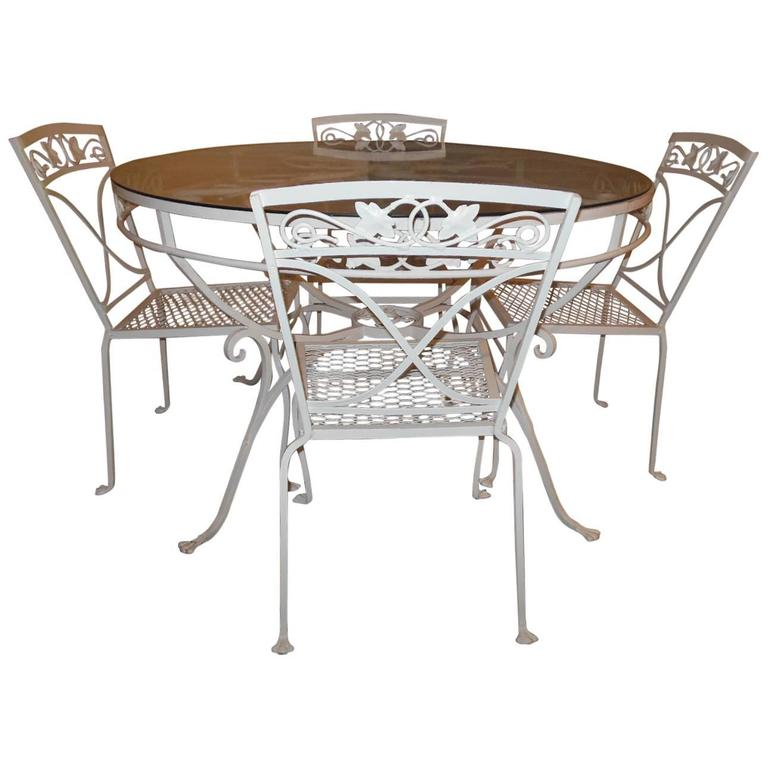 Salterini Patio Dining Set Mt Vernon Pattern For Sale At