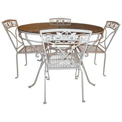 Salterini Patio Dining Set, Mt Vernon Pattern