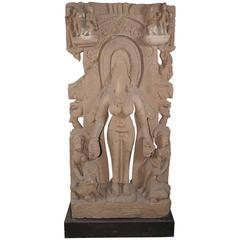 10th Century Indian Headless Goddess Sculpture