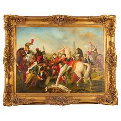 Contemporary 17th Century European Military Scene