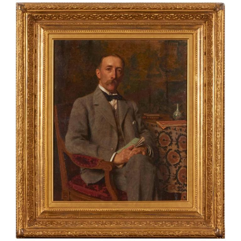 Portrait of Gentleman by Edward de Jans 1