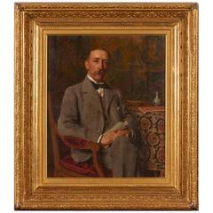 Portrait of Gentleman by Edward de Jans