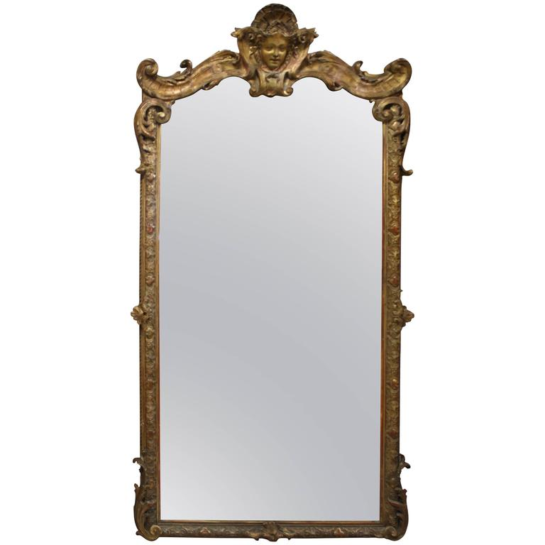 Exceptional French Regency Mirror