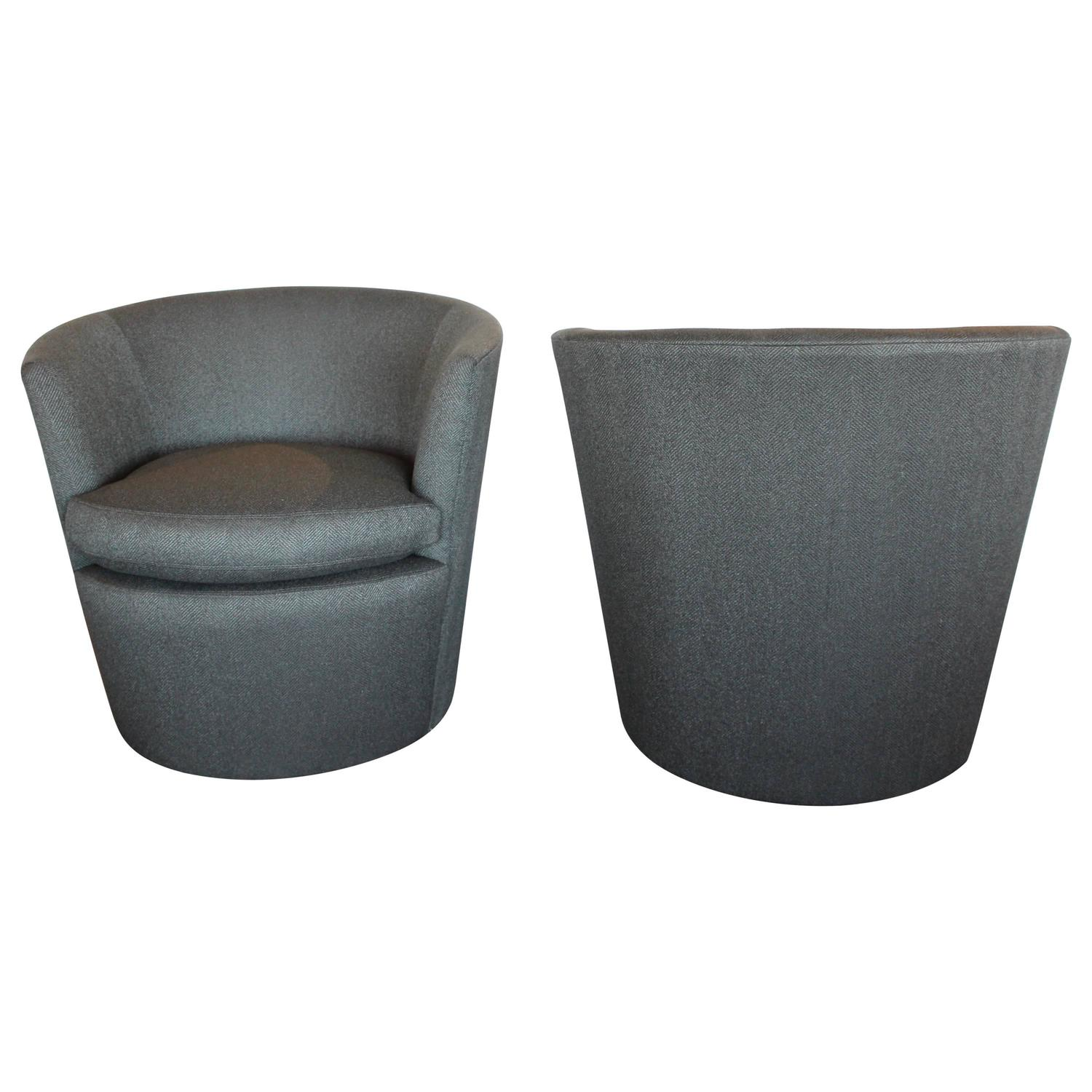Modern Stain Resistant Fabric Swivel Chairs At 1stdibs