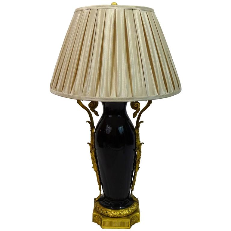 19th Century French Louis Xvi Style Lamp At 1stdibs