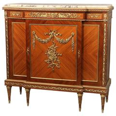 Excellent Late 19th Century Gilt Bronze Mounted Cabinet