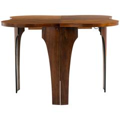 Henry Glass Extendable Dining Table
