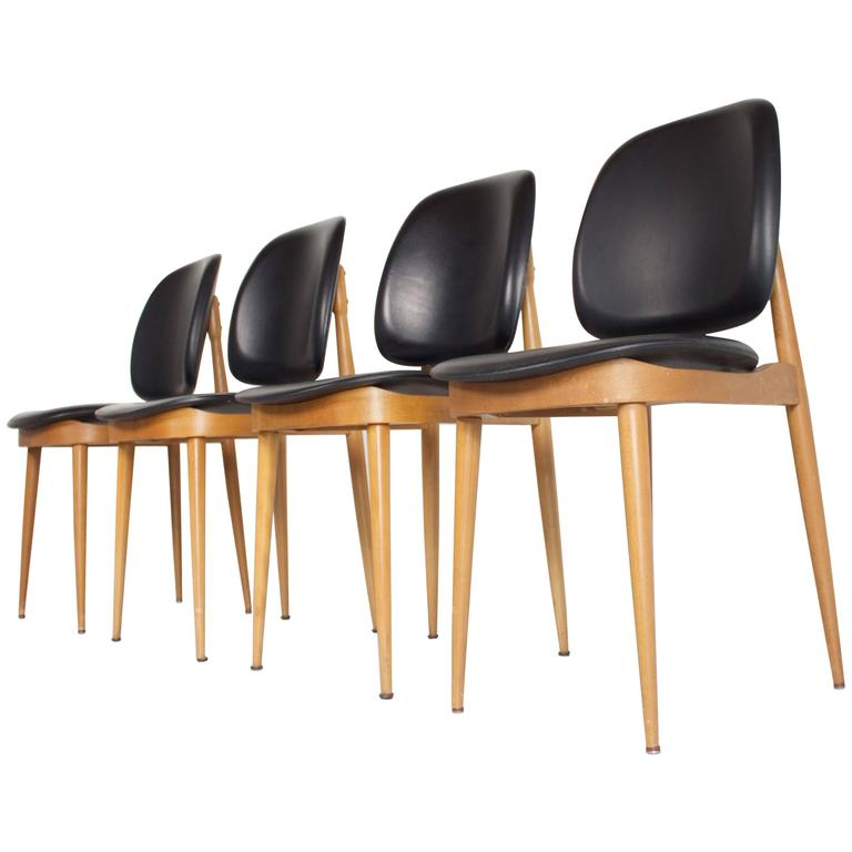Set of Four Side Chairs