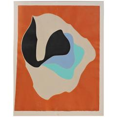 Barbara Kwasniewska Teotihuacan, Intaglio Etching with Aquatint, 1970