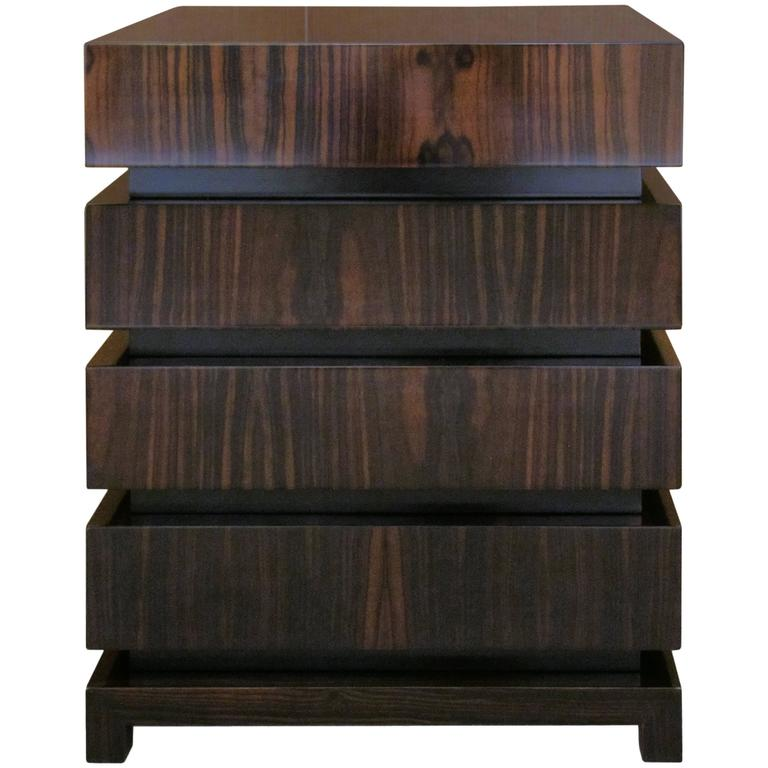 Dom Edizioni Modern Italian Wood Makao Three or Four-drawer