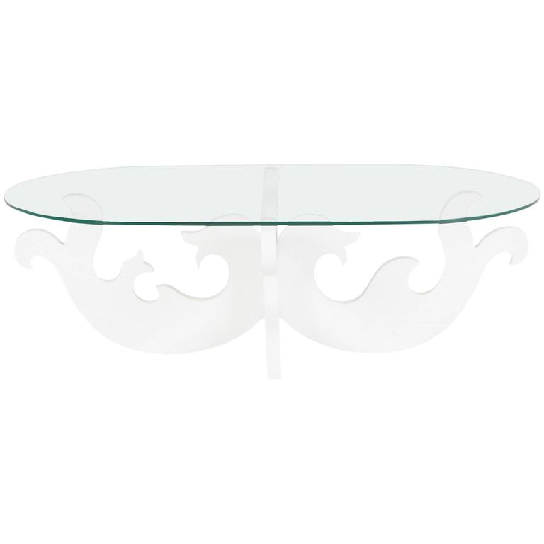 Eva Zeisel Contemporary Biomorphic Coffee Table For Sale at 1stdibs
