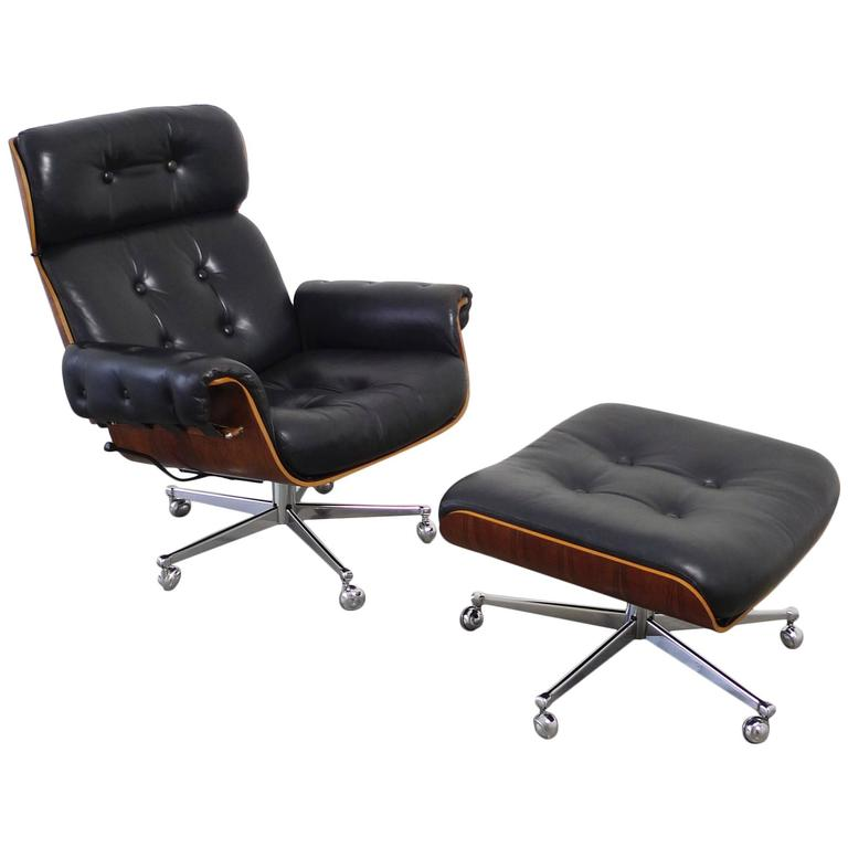 rosewood lounge chair by martin stoll for stoll giroflex switzerland 1960s at 1stdibs. Black Bedroom Furniture Sets. Home Design Ideas