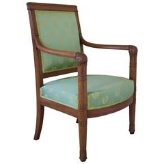 French Napoleonic Period Armchair Attributed to Louis Bellange