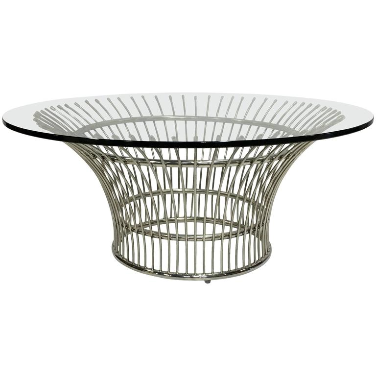Coffee table after warren platner for sale at 1stdibs for Warren platner coffee table