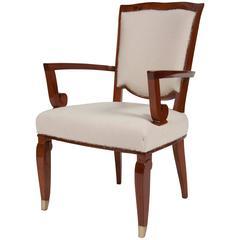 Jules Leleu Open Armchair