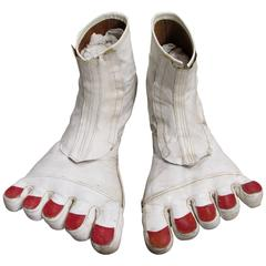 Big Bare Feet Vintage Clown Shoes