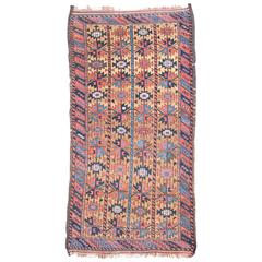 Early 20th Century Blue and Red Baluch Rug