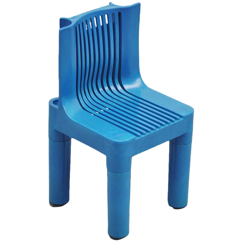 Marco Zanuso Plastic Kids Children 39 S Chair Kartell 1964 For Sale At 1stdibs