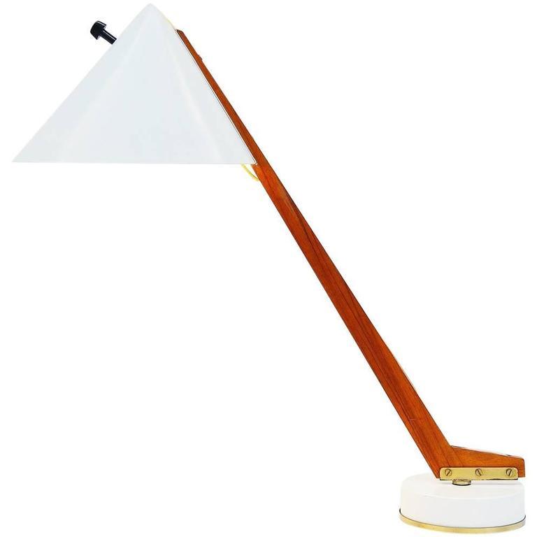 Hans-Agne Jakobsson Table Lamp for Markaryd, Sweden, 1960