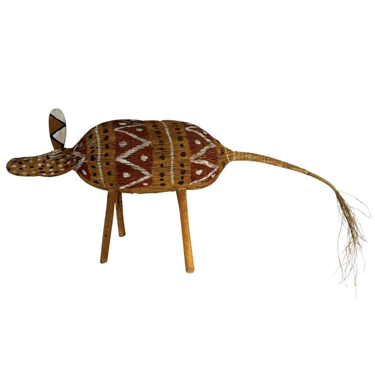 Aboriginal Fiber Art Camp Dog