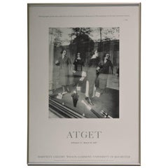 Eugene Atget Exhibition Poster, International Museum of Photography, 1987