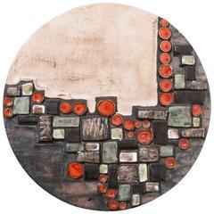 Perignem Abstract Wall Sculpture, 1960s