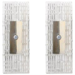 Pair of Kaiser Modernist Wall Lamps