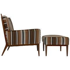Lounge Chair and Ottoman by Paul McCobb for Directional