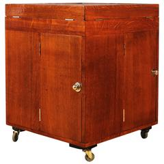 Art Deco Dry Bar or Bar Cart