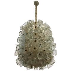 Exquisite Chandelier by Ercole Barovier