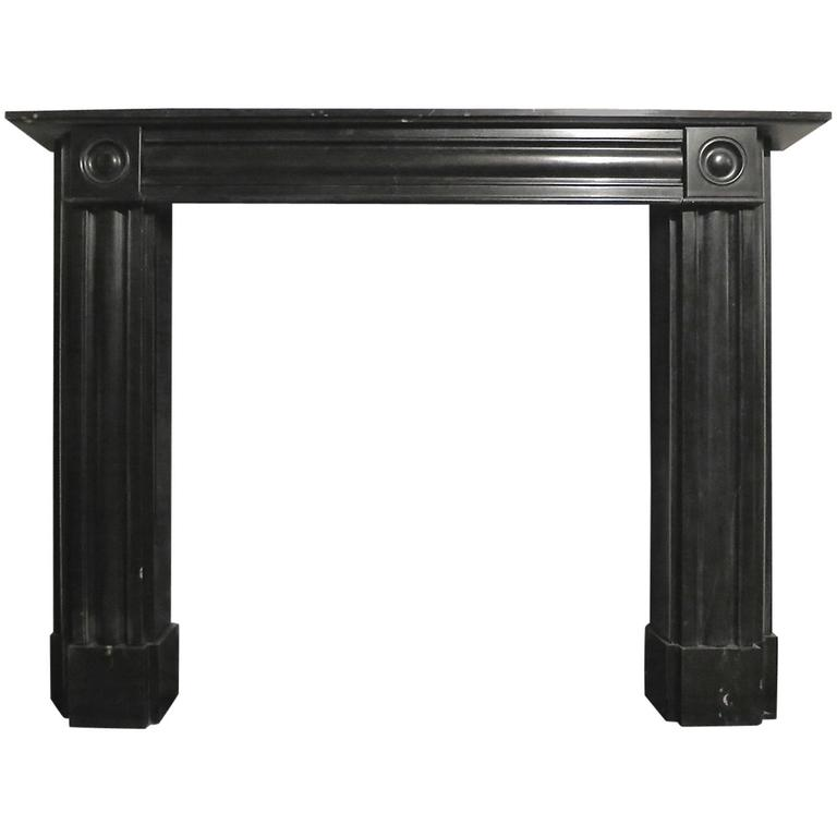 Regency Style Kilkenny Marble Fireplace Mantel