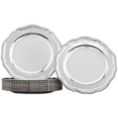 Royal Sterling Dinner Plates