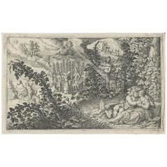 David Vinckeboons 'DVB' Allegorical, Dutch, 1616