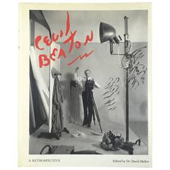 """Cecil Beaton – A Retrospective"" Book - 1986"