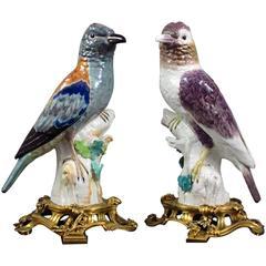Ormolu-Mounted Pair of Roller Figures, Kpm Berlin 1765