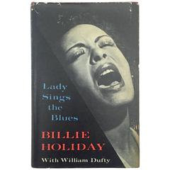 """""""Billie Holiday – Lady Sings the Blues"""" Book"""