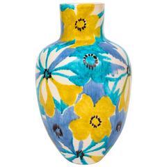 Raymor Italian Ceramic Pop Art Flower Vase