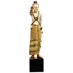 Standing Figure of a Burmese King