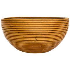 Large Italian Bamboo Bowl