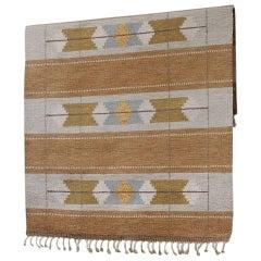 Vintage Swedish Flat-Weave