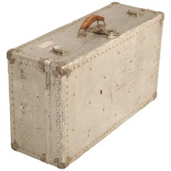 French Metal Trunk Could Be Made into a Coffee Table, 1stdibs New York
