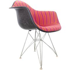 Alexander Girard Eames Armchair with Eiffel Base